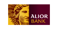 Logotype of Pay with Alior Bank. Choose to pay with this payment channel.
