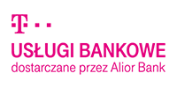 Logotype of T-Mobile usługi bankowe. Choose to pay with this payment channel.