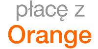 Logotype of Płacę z Orange. Choose to pay with this payment channel.