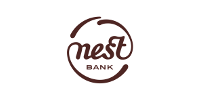 Logotype of Nest Bank. Choose to pay with this payment channel.
