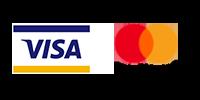 Logo Karty płatnicze. Wybierz tę metodę płatności.