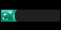 Logo BNP Paribas. Wybierz tę metodę płatności.