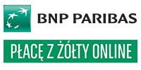 Logotype of BNP Paribas - Płacę z Żółty. Choose to pay with this payment channel.