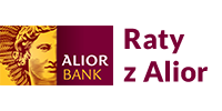 Logotype of Raty z Alior Bankiem. Choose to pay with this payment channel.
