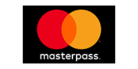 Logotype of MasterPass. Choose to pay with this payment channel.